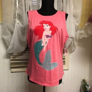 Ariel The Little Mermaid Disney Tank Top